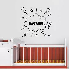 Cute Pirate Wall Decal Personalized Name Pirate Decal Pirate Ship Vinyl Art Wall Decor Children S Wall Stickers For Kids Rooms Decorative Vinyl Wall Stickers Sticker Motorstickers Direct Aliexpress