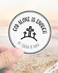 Catholic Saint Sticker Decal St Teresa Of Avila Laptop Decal Sticker Water Bottle Sticker