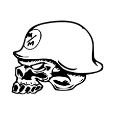 Metal Mulisha Skull Vinyl Decal Sticker