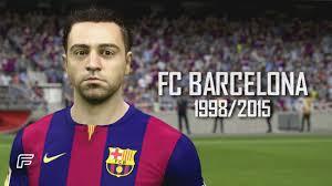 xavi hernandez fc barcelona fifa tribute
