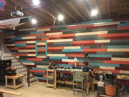 Diy Wood Plank Wall Reclaimed Fence Board Project Easy With Images Old Fence Boards Old Fences Backyard Fences