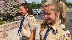 Girls Reflect on First Summer Camp with Boy Scouts