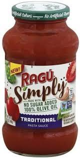 ragu traditional pasta sauce 24 oz