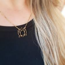 necklace dogeared lotus flower necklace