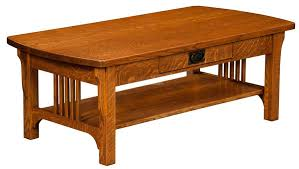 craftsman mission coffee table for 560