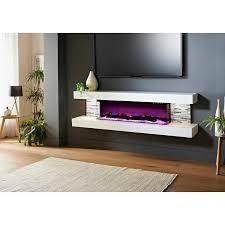 katlyn wall mounted electric fireplace