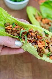 20 minute vegan lettuce wraps healthy
