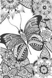 Kleurplaten 2 Butterfly Coloring Page