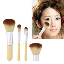cosmetics makeup brush set 5 pcs