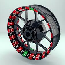 Rim Sticker Stripes Decal Wheelsticker Roulette