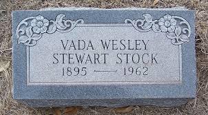 China Spring Cemetery » Stock, Vada Wesley Stewart