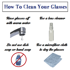eyeglasses helpful tips for cleaning