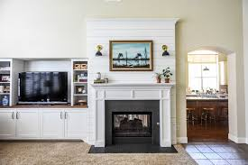 double sided fireplace country