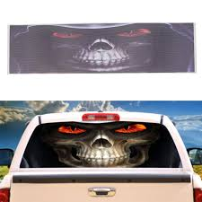 Grim Reaper Death Car Rear Window Graphic Decal Stickers For Truck Suv Van Sale Banggood Com