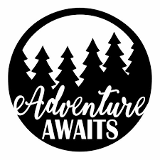 Adventure Awaits Decal Adventure Decal Seek Adventure Trave Michigan Decals Michigan Apparel Michigan Clothing