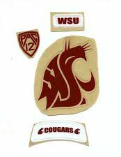 Washington State Cougars Fan Decals For Sale Ebay