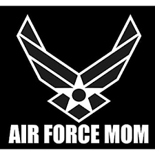 Amazon Com Air Force Mom Sticker 5 Decal White Us Air Force Logo Sticker Proud Parent Usaf Sticker Patriot U S A F Hap Arnold Veteran Usaf 2nd Amendment Sticker Vinyl Window Laptop Merica Automotive