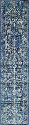 navy blue 3 x 13 stockholm runner rug