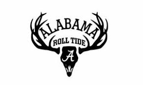 Deer Hunting Antler Truck Or Car Window Decal Sticker Alabama Roll Tide Football Ebay