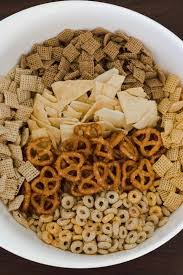 ed up homemade chex mix we should