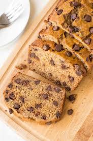 healthy banana bread recipe with