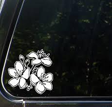 The Decal Store Com By Yadda Yadda Design Co Car Cherry Blossom Corner Car Vinyl Decal Sticker C Yydc 4 5 W