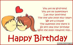 happy birthday quote for girlfriend quote number