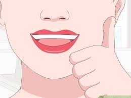 your lips naturally red