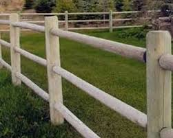 Post Rail Wood Fence Cny Fence And Sheds