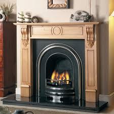cast tec royal arch cast iron fireplace
