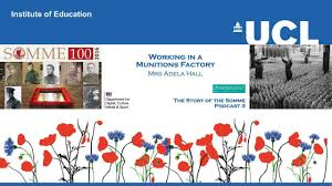 THE STORY OF THE SOMME 3 | Working in a Munitions Factory - Mrs ...