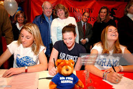 Soccer players Carla Scanniello, Ashley Snyder and Ashley Pyle sign... News  Photo - Getty Images