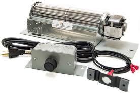 fk24 fireplace blower fan kit for