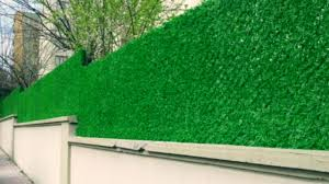 Grass Fence Chain Link Fencing Privacy Fencing Faux Hedges Cimcit Cim Cit Fiyat Youtube