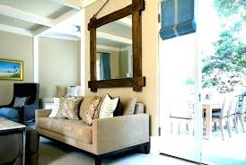 dining room wall mirrors decorative