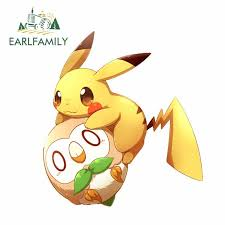 Pokemon Pikachu Playboy Bunny Vinyl Decal Sticker Free Usa Shipping