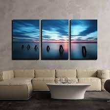 wall26 ocean sunset canvas art wall
