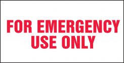 For Emergency Use Only Safety Label Lfsd504