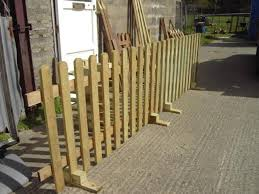 No Posts Picket Fence Ideal Events Shows Moveable Free Standing Free Delivery Norwich Area Norwich Norfolk Portable Fence Picket Fence Modern Fence