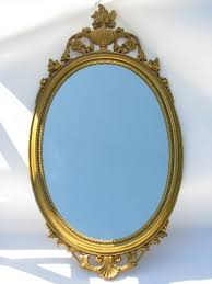 vintage mirror ornate french country