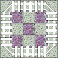 Picket Fence Page 2 House Quilt Block Quilt Border Wall Quilts