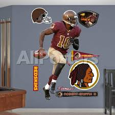 Nfl Washington Redskins Robert Griffin Iii Throwback Wall Decal Sticker Wall Decal Allposters Com