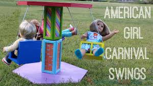 american diy carnival swing ride