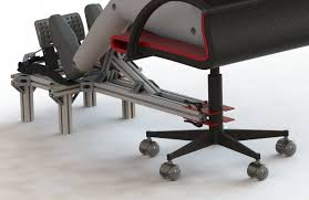 office chair for wheel and flight sim