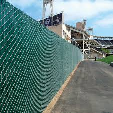 Chain Link Fence With Factory Inserted Slats Caddetails