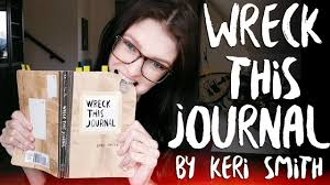 Wreck This Journal by Keri Smith ▻ REVIEW - YouTube