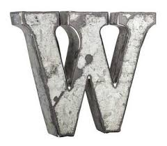 corrugated metal letters wayfair