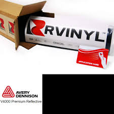 Red Reflective Glowing Vvivid Vinyl Film 5ft X 4ft Printable Decal Sticker Roll