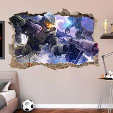 halo master chief 3d wall sticker