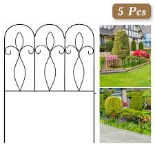 Decorative Garden Fence 32in X 10 Ft Out Buy Online In Albania At Desertcart